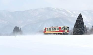 東北ローカル鉄道の旅 冬の秋田雪景色編【5日間】