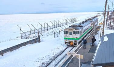 北海道ローカル鉄道 釧網(せんもう)本線 大雪原を往く【5日間】