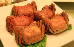 上海蟹の季節到来