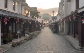 白壁と金魚ちょうちんの町「柳井」