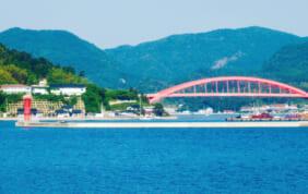 港町西郷と隠岐の島