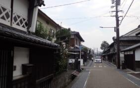 出雲街道の宿場町・津山