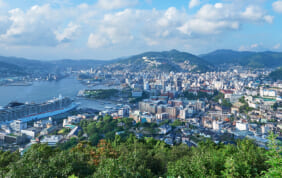 坂の町・長崎。その始まりは長い岬だった。
