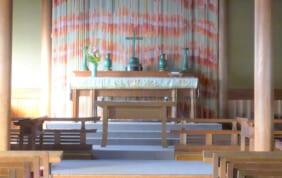 純和風の教会建築 奈良基督教会