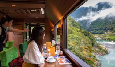 しまなみ海道も訪れる 3つの人気観光列車と四国周遊の旅【5日間】