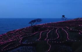 日本海の空に輝く星々と能登半島の旅