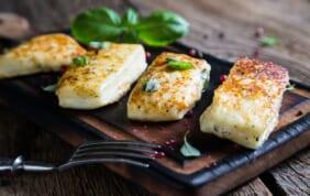 「焼いても溶けない」キプロス名産のハルミチーズ
