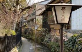岐阜県「郡上八幡」。風情ある佇まいと清流の美しさに感動。視察に行ってきました。