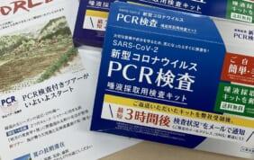 PCR検査付ツアーが始まりました