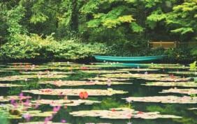 意外?四国で出会う2つの「モネの庭」