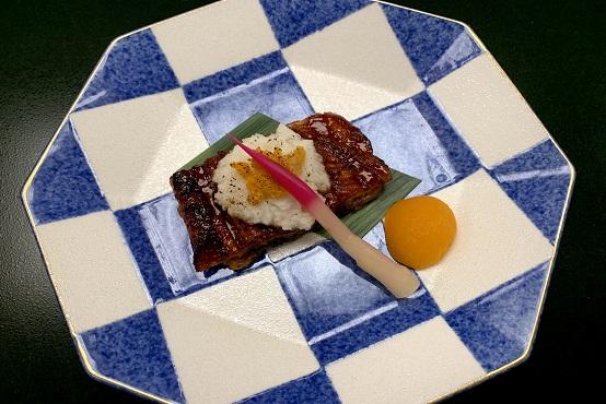 【焼物】むなぎ(うなぎ)薯用雲丹焼き