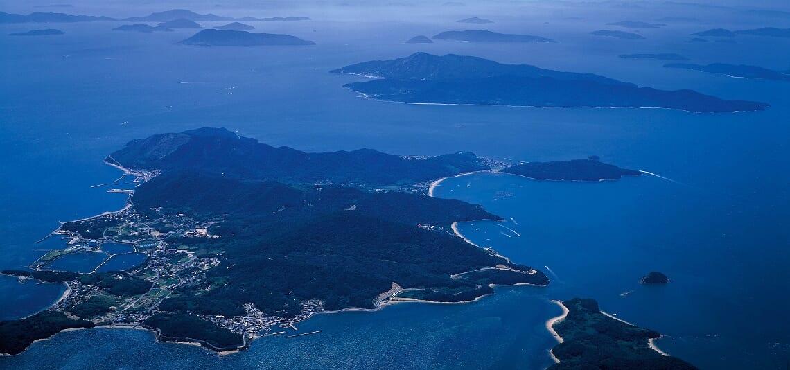 海とともに生きる 塩飽諸島の町並み