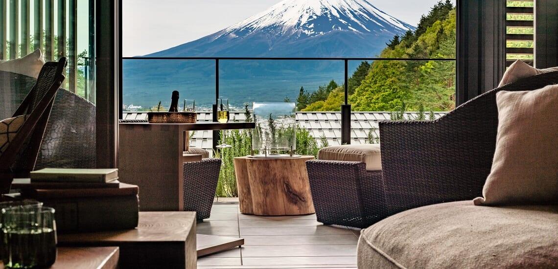 ふふ河口湖と富士の絶景を巡る旅 【4日間】