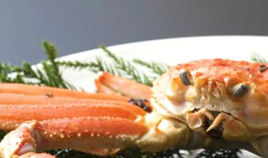 旬の季節が待ち遠しい冬の味覚「蟹」を楽しむ2コース